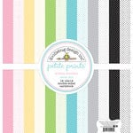 Doodlebug Design - Kitten Smitten Collection - 12 x 12 Paper Pack - Swiss Dot Petite Print Assortment