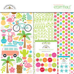 Doodlebug Design - Fun in the Sun Collection - Essentials Kit