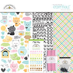 Doodlebug Design - Kitten Smitten Collection - Essentials Kit