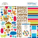 Doodlebug Design - Puppy Love Collection - Essentials Kit