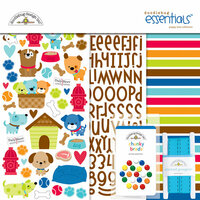 Doodlebug Design - Puppy Love Collection - Essentials Kit