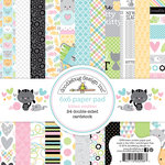 Doodlebug Design - Kitten Smitten Collection - 6 x 6 Paper Pad