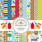 Doodlebug Design - Puppy Love Collection - 6 x 6 Paper Pad