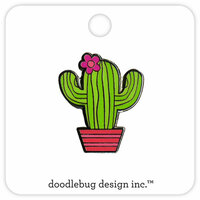 Doodlebug Design - Fun in the Sun Collection - Collectible Pins - Desert Bloom