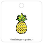 Doodlebug Design - Fun in the Sun Collection - Collectible Pins - Pineapple Crush