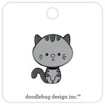 Doodlebug Design - Kitten Smitten Collection - Collectible Pins - Kitty
