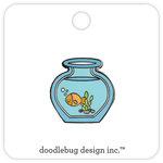 Doodlebug Design - Kitten Smitten Collection - Collectible Pins - Goldie