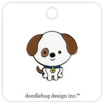 Doodlebug Design - Puppy Love Collection - Collectible Pins - Puppy