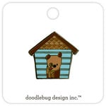 Doodlebug Design - Puppy Love Collection - Collectible Pins - Happy Home