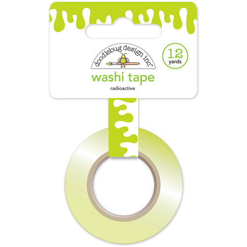 Doodlebug Design - Boos and Brews Collection - Halloween - Washi Tape - Radioactive
