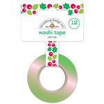 Doodlebug Design - Here Comes Santa Claus Collection - Christmas - Washi Tape - Jolly Holly