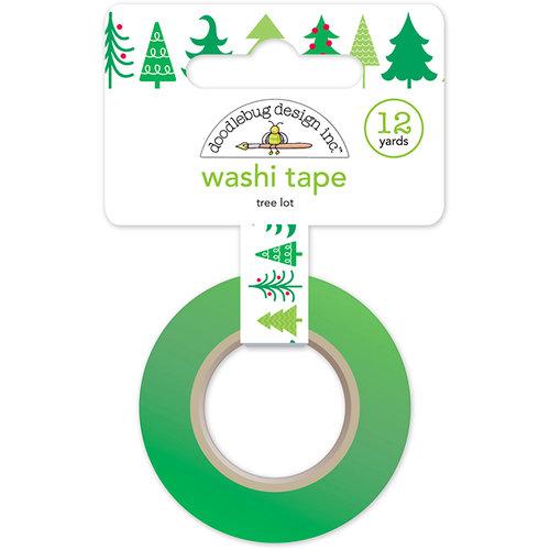 Doodlebug Design - Here Comes Santa Claus Collection - Christmas - Washi Tape - Tree Lot