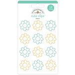 Doodlebug Design - Flea Market Collection - Cute Clips - Flowers