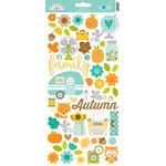 Doodlebug Design - Flea Market Collection - Cardstock Stickers - Icons
