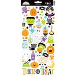 Doodlebug Design - Boos and Brews Collection - Halloween - Cardstock Stickers - Icons