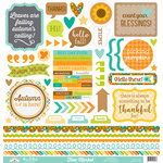 Doodlebug Design - Flea Market Collection - 12 x 12 Cardstock Stickers - This and That