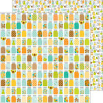 Doodlebug Design - Flea Market Collection - 12 x 12 Double Sided Paper - Tiny Treasures