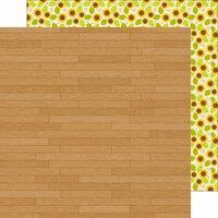 Doodlebug Design - Flea Market Collection - 12 x 12 Double Sided Paper - Barnwood