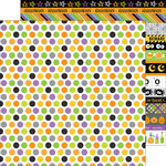 Doodlebug Design - Boos and Brews Collection - Halloween - 12 x 12 Double Sided Paper - Bubbling Brew