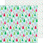 Doodlebug Design - Here Comes Santa Claus Collection - Christmas - 12 x 12 Double Sided Paper - Tis' the Season