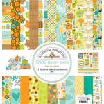 Doodlebug Design - Flea Market Collection - 12 x 12 Paper Pack
