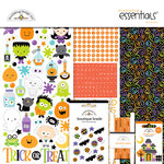 Doodlebug Design - Boos and Brews Collection - Halloween - Essentials Kit