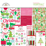 Doodlebug Design - Here Comes Santa Claus Collection - Christmas - Essentials Kit