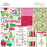 Doodlebug Design - Here Comes Santa Claus Collection - Christmas - Essentials Kit
