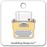 Doodlebug Design - Flea Market Collection - Collectible Pins - Tiny Type