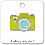 Doodlebug Design - Flea Market Collection - Collectible Pins - Shutterbug