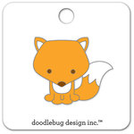 Doodlebug Design - Flea Market Collection - Collectible Pins - Foxy