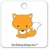 Doodlebug Design - Flea Market Collection - Collectible Pins - Foxy