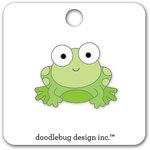 Doodlebug Design - Boos and Brews Collection - Halloween - Collectible Pins - Froggy