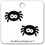 Doodlebug Design - Boos and Brews Collection - Halloween - Collectible Pins - Websters