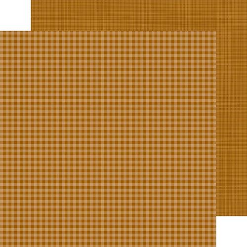 Doodlebug Design - Petite Prints Collection - 12 x 12 Double Sided Paper - Gingham and Linen - Bon Bon