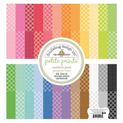 Petite Prints Rainbow Color Cardstock Assortment