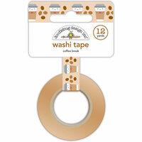 Doodlebug Design - Cream and Sugar Collection - Washi Tape - Coffee Break