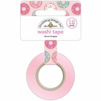 Doodlebug Design - Cream and Sugar Collection - Washi Tape - Donut Shoppe