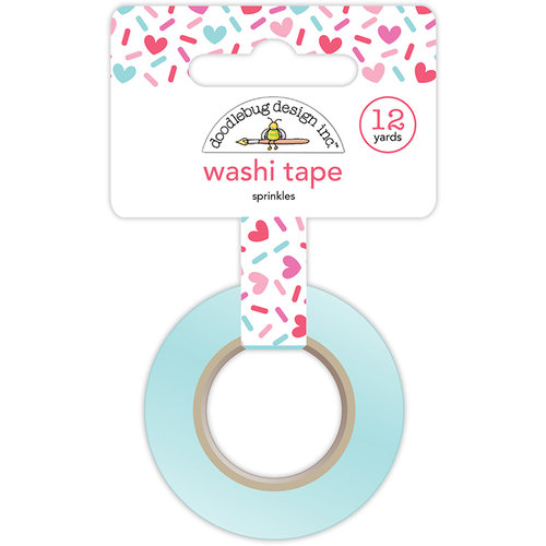 Doodlebug Design - Cream and Sugar Collection - Washi Tape - Sprinkles