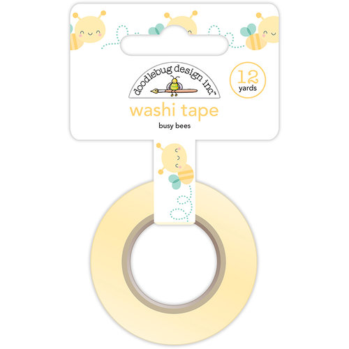 Doodlebug Design - Spring Things Collection - Washi Tape - Busy Bees
