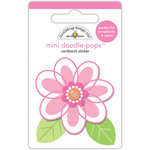 Doodlebug Design - Spring Things Collection - Doodle-Pops - 3 Dimensional Cardstock Stickers - Dainty Daisy