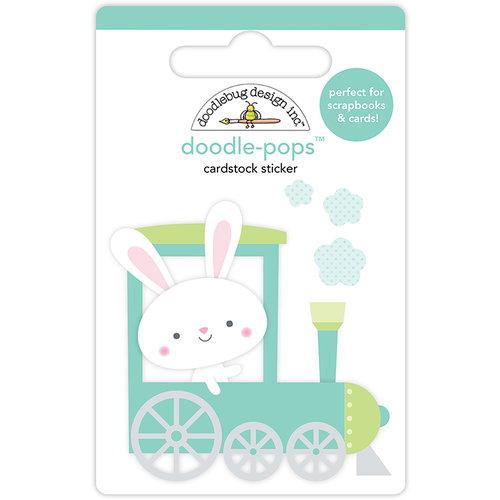 Doodlebug Design - Easter Express Collection - Doodle-Pops - 3 Dimensional Cardstock Stickers - Easter Express