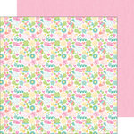 Doodlebug Design - Spring Things Collection - 12 x 12 Double Sided Paper - Spring-a-Ling