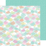 Doodlebug Design - Spring Things Collection - 12 x 12 Double Sided Paper - April Showers