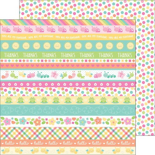 Doodlebug Design - Spring Things Collection - 12 x 12 Double Sided Paper - Springtime Spots