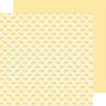 Doodlebug Design - Spring Things Collection - 12 x 12 Double Sided Paper - Bitty Bees