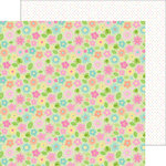 Doodlebug Design - Spring Things Collection - 12 x 12 Double Sided Paper - May Flowers