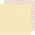Doodlebug Design - Easter Express Collection - 12 x 12 Double Sided Paper - Chickie Babies