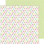 Doodlebug Design - Easter Express Collection - 12 x 12 Double Sided Paper - Easter Egg Dot