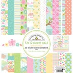 Doodlebug Design - Spring Things Collection - 12 x 12 Paper Pack
